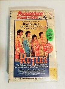 RARE VHS. THE RUTLES. ORIGINAL ROADSHOW BIG BOX CLAMSHELL CASE. EX RENTAL. 1987