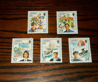 JERSEY MINT STAMPS 30.5.1985 INTERNATIONAL YOUTH YEAR