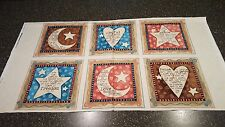 Expressions of Faith Panel 23x42 Bethany Shackelford QT Moon Heart Star Brown