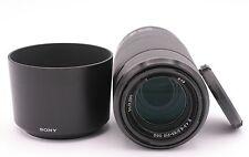 Sony SEL55210 SEL E 55-210mm f/4.5-6.3 Aspherical IS OSS Lens (Black)