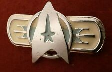 STAR TREK FEDERATION UNIFORM INSIGNIA PIN (METAL) ORIGINAL