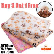 More details for pet dog cat rest blanket sleeping bed puppy kitten fleece cushion soft warm uk