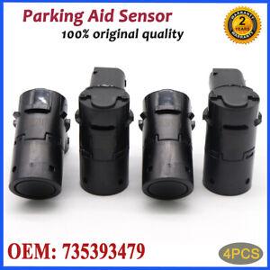 4x Parking Sensor PDC For Fiat Multipa Stilo Croma Doblo Ducato Idea Marea Palio