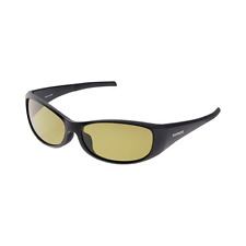 SHIMANO UJ-100T VALBAROS TYPE G Black/Yellow Polarized Sunglasses Japan NEW
