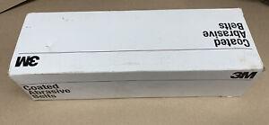 "(10) 3M Sanding Belt Fabri-Lok 4"" x 36"" 80 Grit"