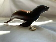 More details for gorgeous sea lion made from ironwood