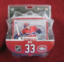 "PATRICK ROY MONTREAL CANADIENS GOALIE WITH NET FIGURE 6""  IMPORTS DRAGON"