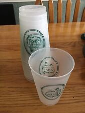 2017 Official Masters Golf Frosted Plastic Drink Cup Collectible Augusta