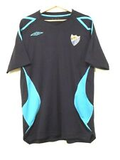 MALAGA CF Football SHIRT Jersey size L UMBRO Tricot Maglia Camiseta SPAIN LALIGA