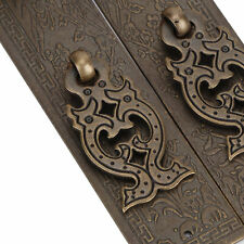 Furniture Door Handle Kit Chinese Style Antique Copper Gate Pull Handle Cabinet