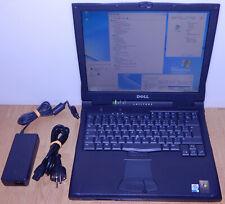 "15"" Laptop Notebook Dell Latitude C840 P4 1,6G 40GB 512MB Windows 98 SE XP RS232"