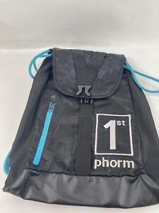 1st Phorm Backpack Bag Gym Drawstring Padded Pre Workout