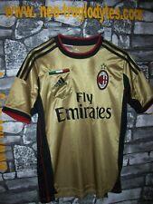 Vintage Milan Adidas away football soccer jersey shirt trikot maillot  '00s