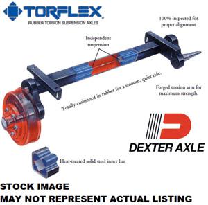 "Dexter Torflex Torsion Axle 3500 89"" Hub Face 67.50"" Bracket 0 Start #10"