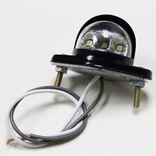 Hotsale 12v LED Lamp Metal Iron License Number Plate Light for Van Trailer Truck
