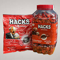 HACKS ORIGINAL TOFFEE Hard Boiled Sweets 150 QUANTITY Fresh Taste In The Mouth