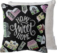 Primitives by Kathy Chalk Sign Style Pillow HOME SWEET HOME Pillow NIP
