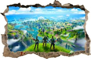 FORTNITE Wall Sickers HOLE IN THE WALL decorative sticker to the room 97