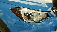 2013-2016 Subaru Crosstrek Headlight Reflector Overlays (Dark or Light Smoke)