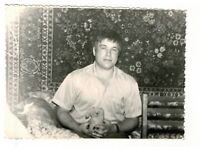 1970s portrait young man Russian Vintage photo gay int b