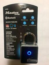 Master Lock 4400D Indoor Bluetooth Smart Padlock - Brand New Masterlock