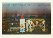 "Klaus Staeck, ""Ajax"", 1972,  Farbserigrafie, handsigniert"