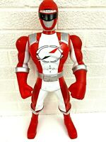 "9Red Operation Overdrive Power Ranger Talking Action Figure Huge 21"" Bandai 2005"