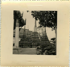 PHOTO ANCIENNE - VINTAGE SNAPSHOT - BANGKOK THAILANDE TEMPLE