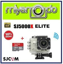 SJCAM Original SJ5000X Elite 4K WiFi Action Camera (Silver) + microSD 16GB