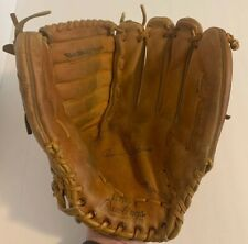 Rawlings Baseball/Softball Glove Leather Fastback Rbg4 Rht Basket Softball Size
