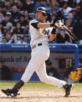DEREK JETER NEW YORK YANKEES UNSIGNED 8x10 PHOTO (E)