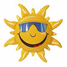 Deko Sonne aufblasbar 60 cm für Garten Strand Urlaub Party Sommerfeste