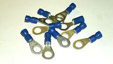 10x Ring Kabelschuh,blau  Ø M6   f. 1,5-2,5 mm² Kabel