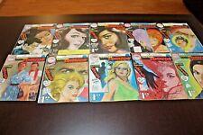 DOCTORA CORAZON LOT 10 COMIC BOOKS MEXICO 1960s Romance