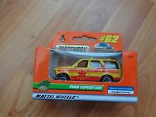 VINTAGE MATCHBOX #62 FORD EXPEDITION CAR DIECAST MODEL BOXED
