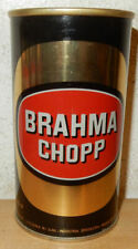 BRAHMA CHOPP Straight Steel Beer can from BRAZIL (355ml) 02