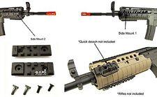 2 x JG Metal RIS Rail Integrated System M4 S Mount Attachment AEG Airsoft 2.5