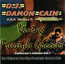Vintage Freestyle Grooves - Various (CD, 2001) Dance Mix DJ Damon Cain Rare OOP