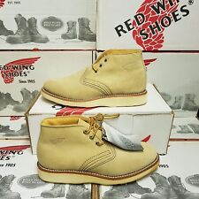 VINTAGE* RED WING SHOES 3142 Chukka men's leath boots UK 7 US 8 EUR 40 (pv:349€)