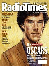 Radio Times Magazine,Benedict Cumberbatch,Barry Norman,Van Gogh,OSCARS COVER 3