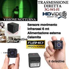 Telecamera spia Wifi 3g 4g p2p infrarossi microcamera mini