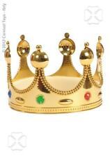 Corona Regina dorata Carnevale Halloween Feste Travestimenti Carnival Toys