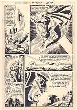World's Finest Comics #211 p.10 - Superman Caught in Air 1972 art by Dick Dillin Comic Art