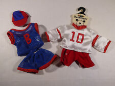 Beanie B-Line Outfit Accessories: Soccer & Basketball Sport for Beanie Babies