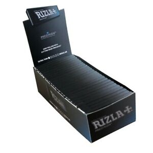Precision Rizla  Extra Thin Rolling Papers Single Size Cigarette  50 Booklets