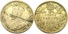 elf Canada 10 Cents 1921  George V