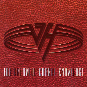 VAN HALEN For Unlawful Carnal Knowledge BANNER HUGE 4X4 Ft Fabric Poster Flag
