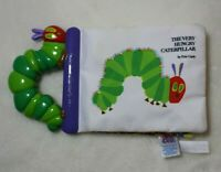 The World of Eric Carle Baby Book The Very Hungry Caterpillar Soft Crinkle Plush
