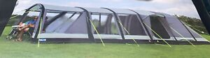 Kampa Croyde 6 Air tent plus canopy, carpet, footprint and other camping items