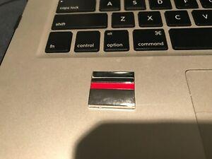 OEM Saturn Ion VUE redline emblem badge logo square RED CHROME NAMEPLATE